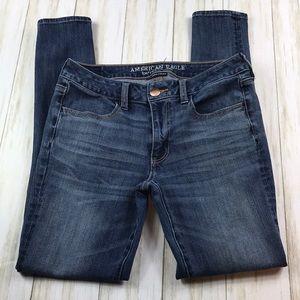 American Eagle Jeggings Super Stretch Jeans